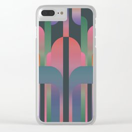 Total Eclipse III Clear iPhone Case