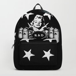 RAD STARS, GRAFFITIS and SPRAY CANS Backpack