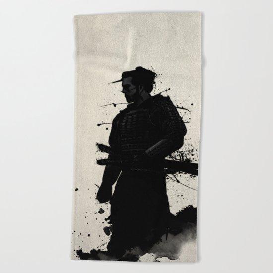 Samurai Beach Towel
