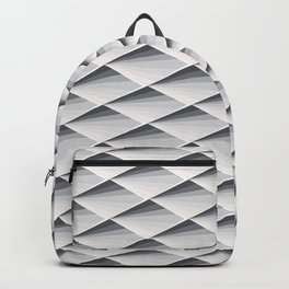 FISH SKIN SCALES ART PATTERN GRAY SCALE Backpack