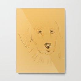 17- doggie…unleashed! Metal Print