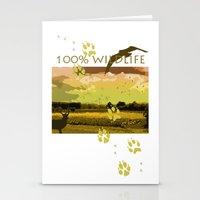 wildlife Stationery Cards featuring Wildlife by Sergio Silva Santos