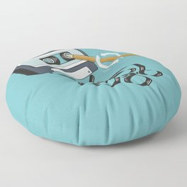 Back in the Day Floor Pillow