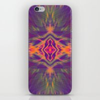 psychedelic iPhone & iPod Skins featuring Psychedelic by chey691