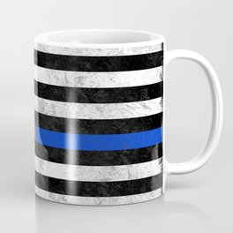 Fire Police Flag Coffee Mug