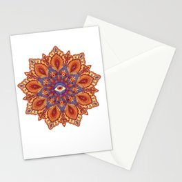 Mystic Mandala - Fire Stationery Cards