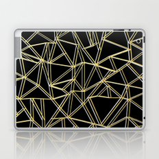 Ab Gold and Silver Laptop & iPad Skin