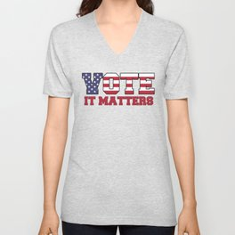 Vote It Matters Unisex V-Neck