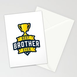 Best brother ever Stationery Cards