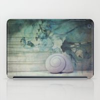 shell iPad Cases featuring Shell by KunstFabrik_StaticMovement Manu Jobst