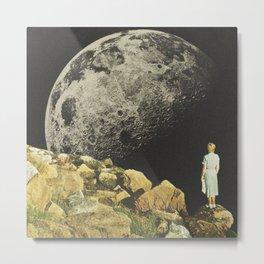 Mount Moon Metal Print