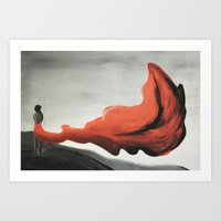 Rage Within Art Print
