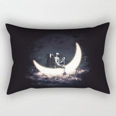 Moon Sailing Rectangular Pillow