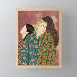 Wild Flowers Framed Mini Art Print