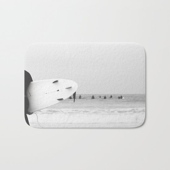 catch a wave II Bath Mat