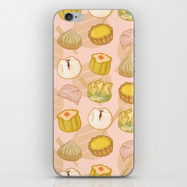Dimsum everywhere! [peach] iPhone Skin
