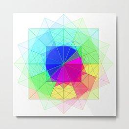geometric abstract 2 Metal Print