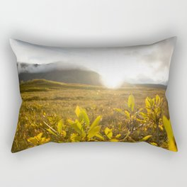 Brooks Range Sunset Rectangular Pillow