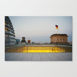 Berlin from the Reichstag Roof Canvas Print