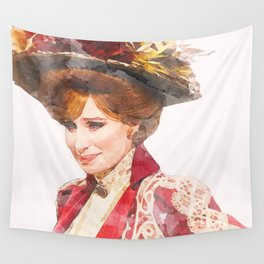 Hello, Dolly! - Barbra Streisand - Watercolor Wall Tapestry
