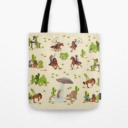 COWBOYS & ALIENS Tote Bag