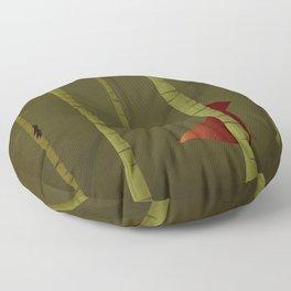Little Red Ridding Hood Floor Pillow