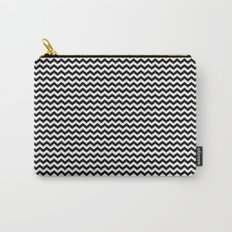 Chevron Black Carry-All Pouch