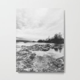 | the whisper of the river - reveals secrets | Metal Print