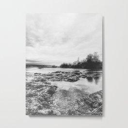   the whisper of the river - reveals secrets   Metal Print