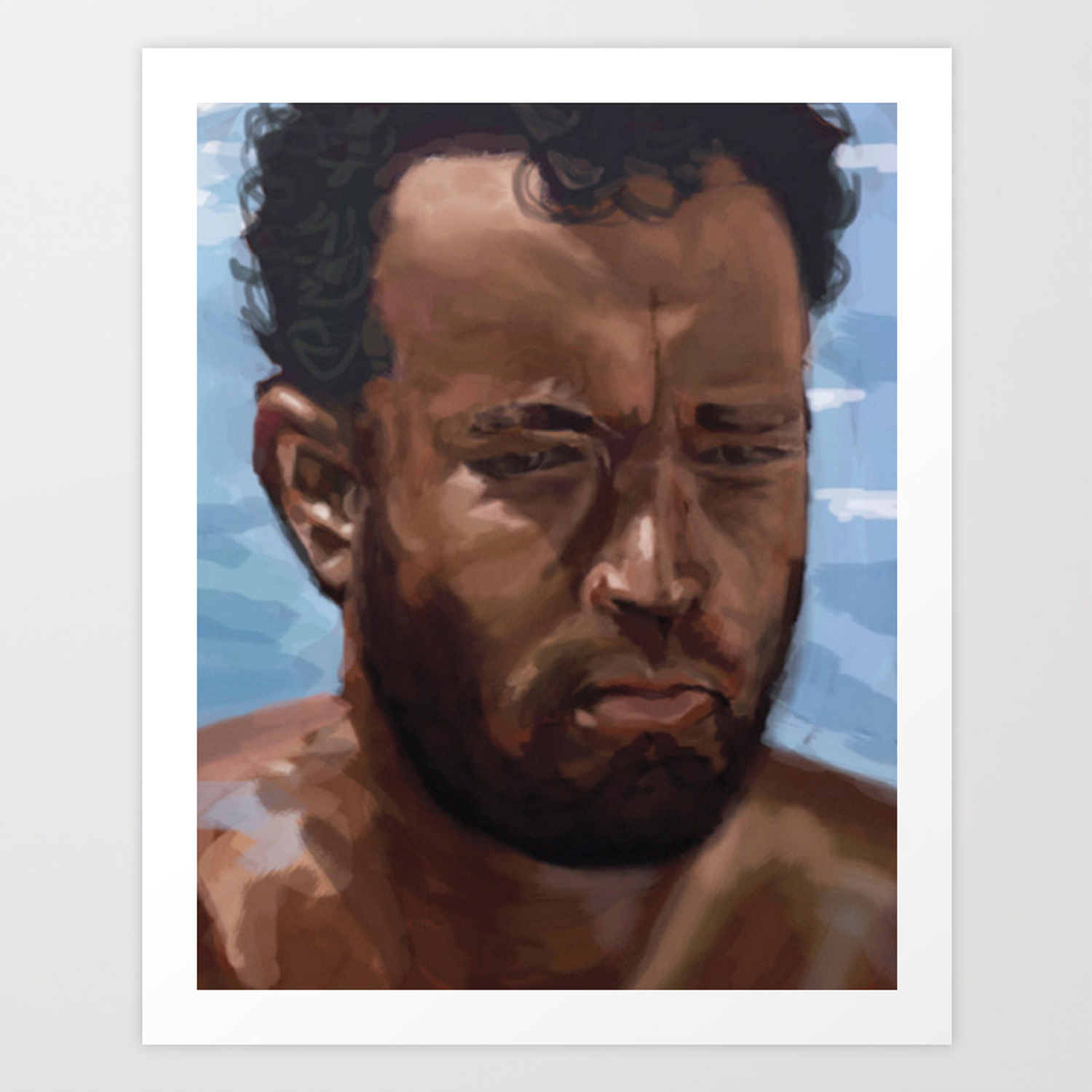 Print Home Decor Gifts Tom Hanks Cast away Poster Quote Wall Art