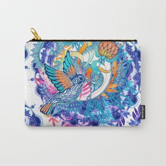 Wild Garden Carry-All Pouch