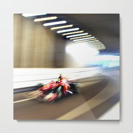 Scene from the Monaco Grand Prix 2012 Metal Print