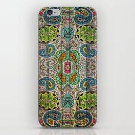 Kashmir on Wood 03 iPhone Skin