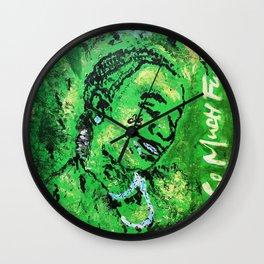 thug,so much fun,album art,cover,green,music,hiphop,rap,decor,wall art,gangsta,cool,dope,poster Wall Clock