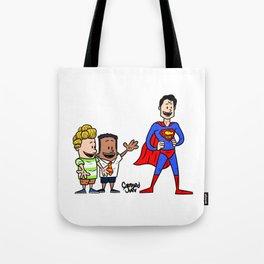 Super captain underpants Tote Bag