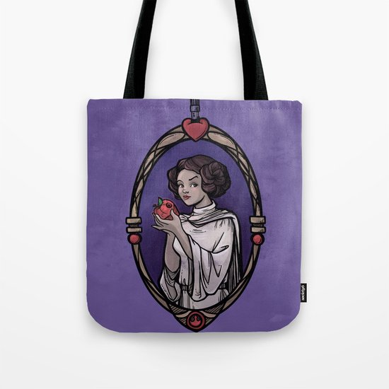 Snow Organa and the Poisoned Death Star Tote Bag