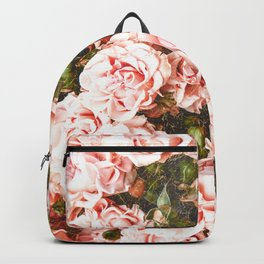 Vintage Roses - Golden Perfection Backpack