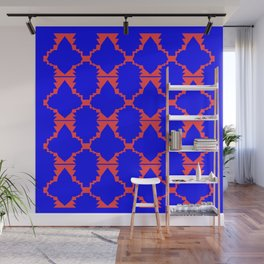 Ethno design blocks Wall Mural