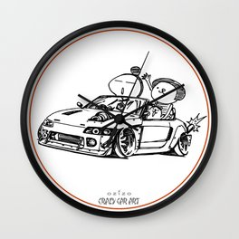 Crazy Car Art 0022 Wall Clock