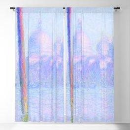 "Claude Monet ""Grand Canal Venice"" Blackout Curtain"