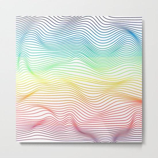 Lighten the colors Metal Print