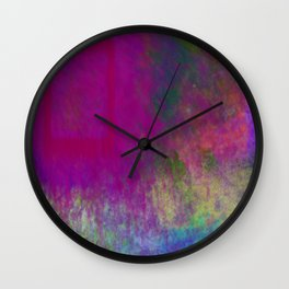 Pink Door Wall Clock
