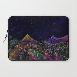 Magical Night Market Laptop Sleeve