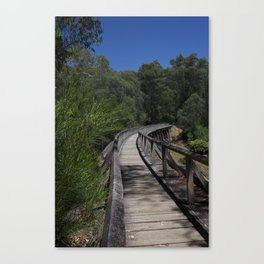 On The Noojee Trestle Bridge Canvas Print