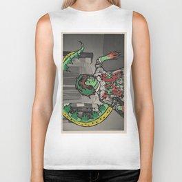 Lizard Lady Biker Tank