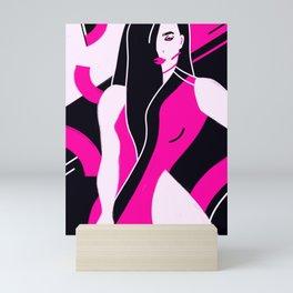 Burn your karma baby Mini Art Print