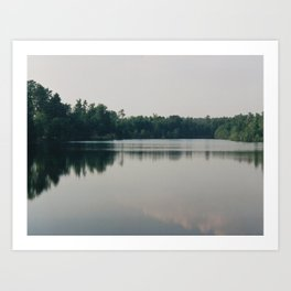 Lake South Carolina Art Print
