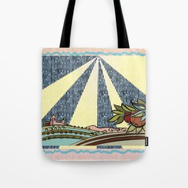 Autumn harvest illustration Tote Bag