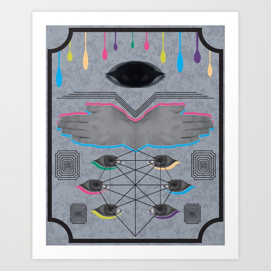 Psychoanalysis Art Print