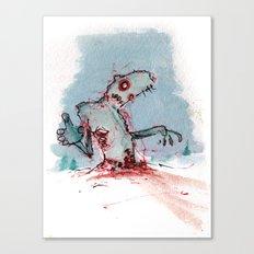 Tundra Zombie Canvas Print